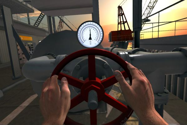 Inprocess interactive offshore operation