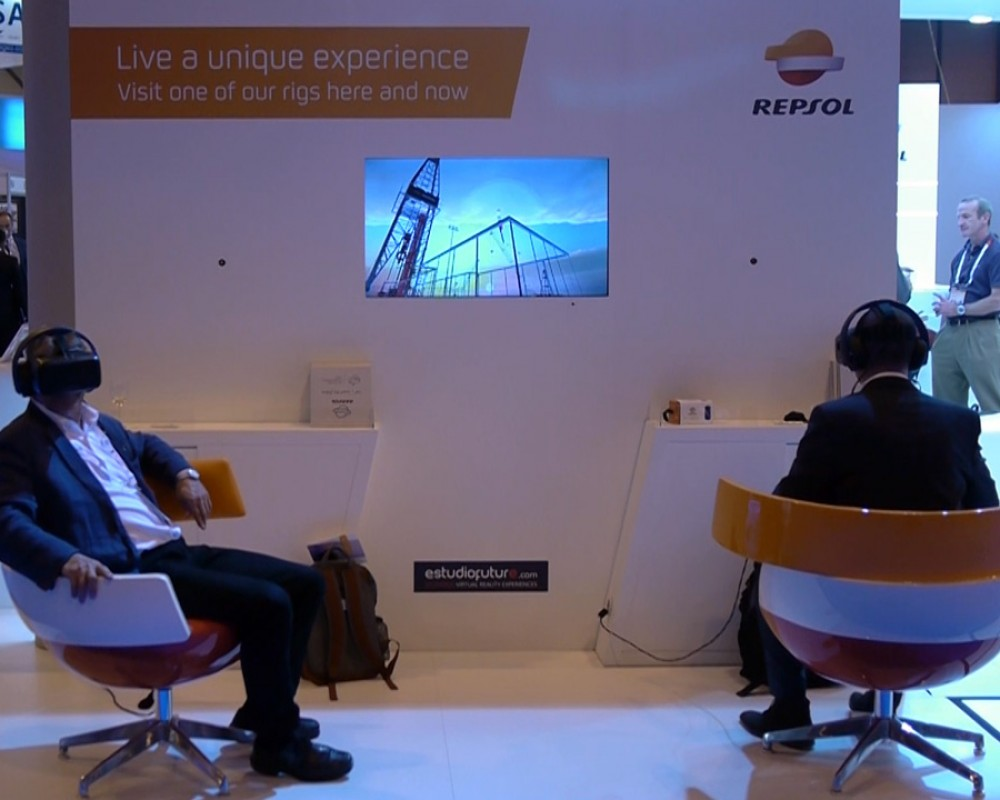 OFFSHORE VR – EAGE Madrid Exhibition